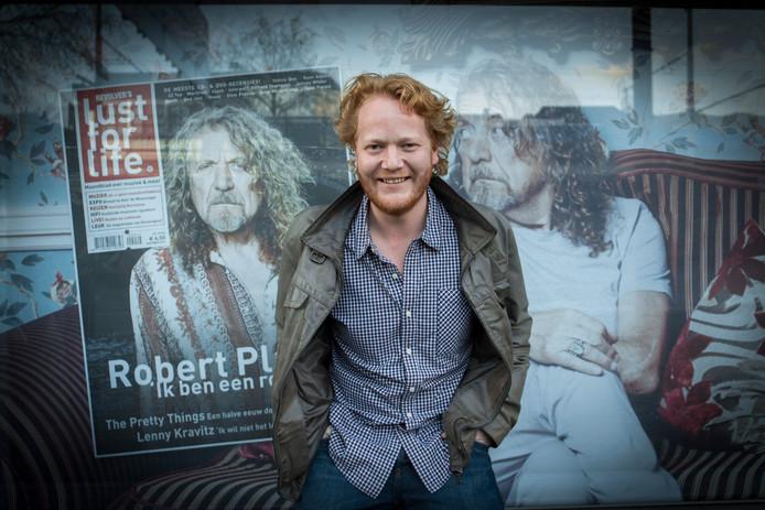 Hoofdredacteur Paul Gersen verlaat muziekblad Lust For Life, waarvan de redactie kantoor houdt in Arnhem.
