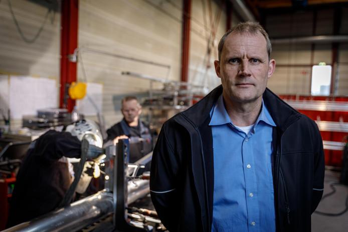 Directeur Cor van Vilsteren van Staalbedrijf MCM: ,,Demotie is nog steeds een vies woord, dat moet echt veranderen.''