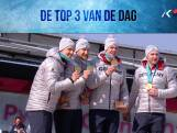 De top-3 van de laatste olympische dag