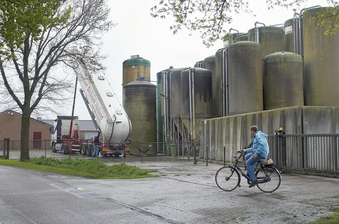 Een deel van het bedrijf van Coppens in Boekel.