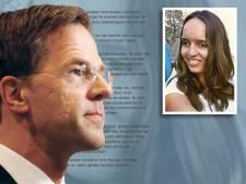 Indrukwekkende brief van Noortje aan premier Rutte