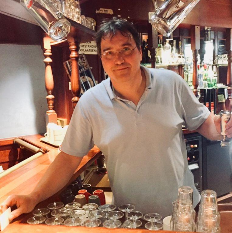 Hoteleigenaar Don van der Voort. Beeld