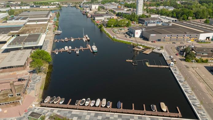 De Rijnhaven in Alphen wordt de tweede locatie waar Locaboat een vestiging in Nederland opent.