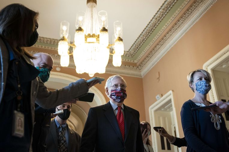 Mitch McConnell. Beeld AFP