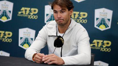 """Rafael Nadal: """"Ik ga ervan uit dat ik kan meedoen aan ATP Finals"""" - Federer en Djokovic in dezelfde groep"""