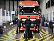 DAF voert productie in Eindhoven verder op