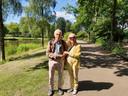 Leo en Marjanka Kuaden lopen al jaren tweemaal daags door het park. Ze zagen het de afgelopen weken steeds drukker worden.