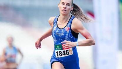 Renée Eykens pakt goud op de 800m