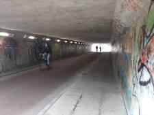 Graffitikunstenaars pakken grauwe N3-tunnel aan: 'Cadeautje voor de stad'
