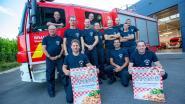 Lennikse brandweermannen serveren spaghetti in Eizeringen