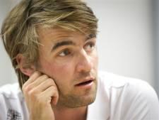 Schaatser Mark Tuitert spreekt ondernemers De Ronde Venen toe