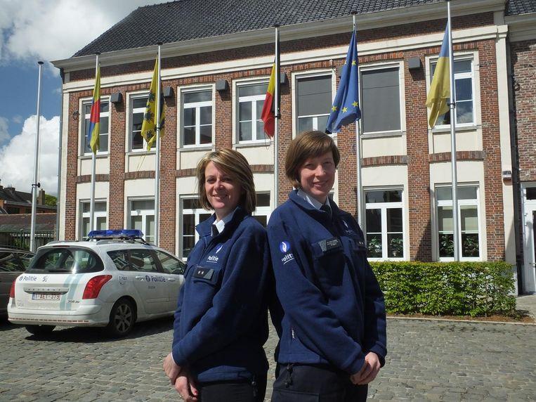 Stefanie Coen en Katrien Van Vooren.