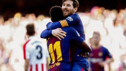 FT buitenland: Barcelona stap dichter bij landstitel na 25ste competitiegoal Messi - Hattrick Acheampong nekt Quanjian van Witsel