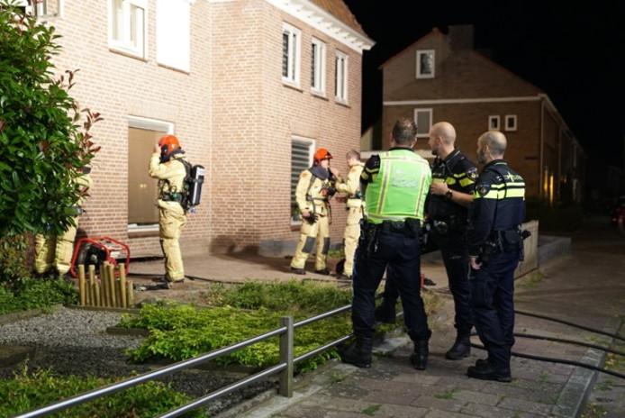 Een brandje in Veldhoven was snel onder controle. Er wordt onderzocht of er sprake is van brandstichting.
