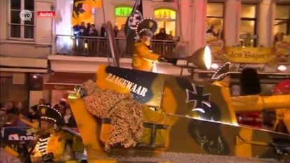 Klacht bij Unesco voor SS-vlag tijdens carnavalsstoet in Aalst