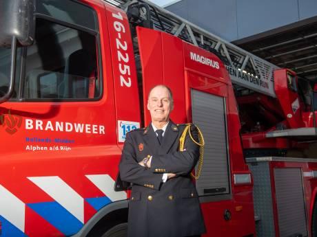 Alphenaar Leo Rijfers (58) zwaait na 40 jaar bij de brandweer af