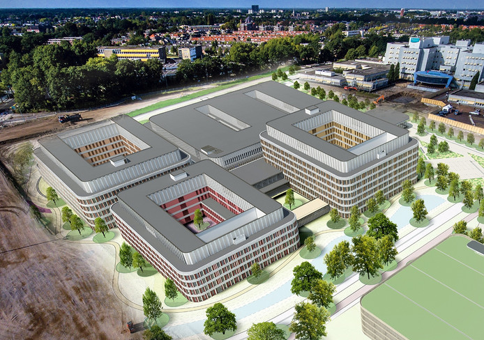 Artist Impression Amphia Ziekenhuis in Breda