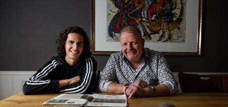 Van Amsterdam naar Haaksbergen: Ramiz Zerrouki  is thuis bij oud FC Twente-speler Marcel Mentink: 'Ik wist niet dat hij had gevoetbald'