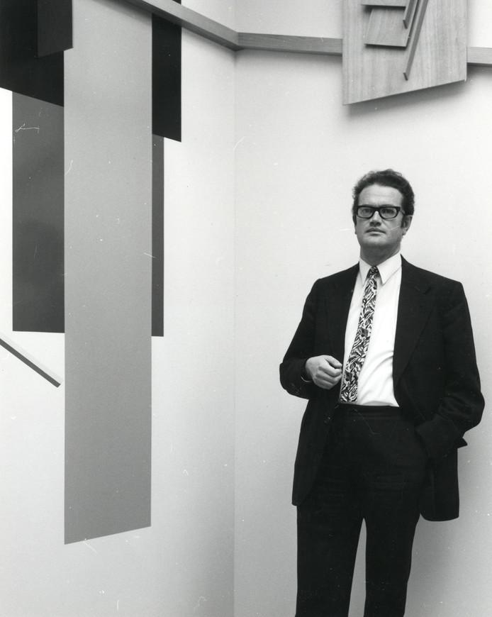 Jean Leering, voormalige directeur Van Abbemuseum.