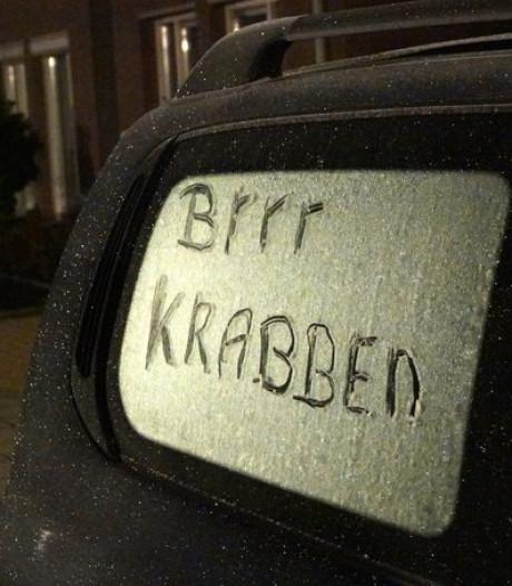 Vanmorgen code geel: glad op de weg na eerste nacht vorst in Brabant