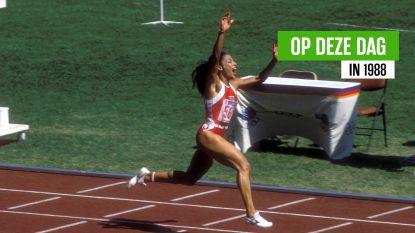 """""""Onmogelijk dat een vrouw zó snel kan lopen"""": de (verdachte) erfenis van Griffith-Joyner, die 32 jaar geleden atletiekwereld op z'n kop zette"""