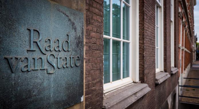 2018-08-13 09:08:10 DEN HAAG - Exterieur van de Raad van State in Den Haag. ANP LEX VAN LIESHOUT