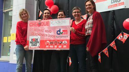 DvM Humaniora schenkt bijna 5.000 euro aan Rode Neuzen Dag