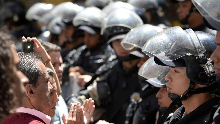 Protesten in Venezuela. Beeld afp