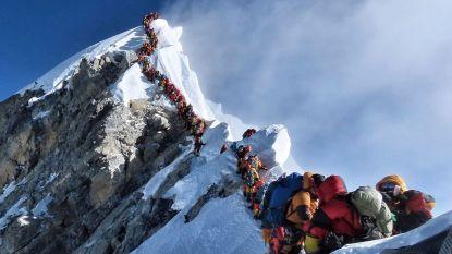 Recordaantal klimmers op top van Mount Everest