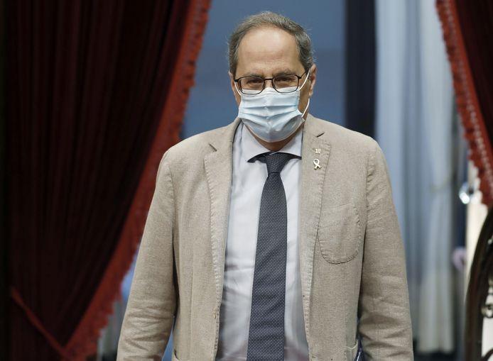De Catalaanse premier Quim Torra