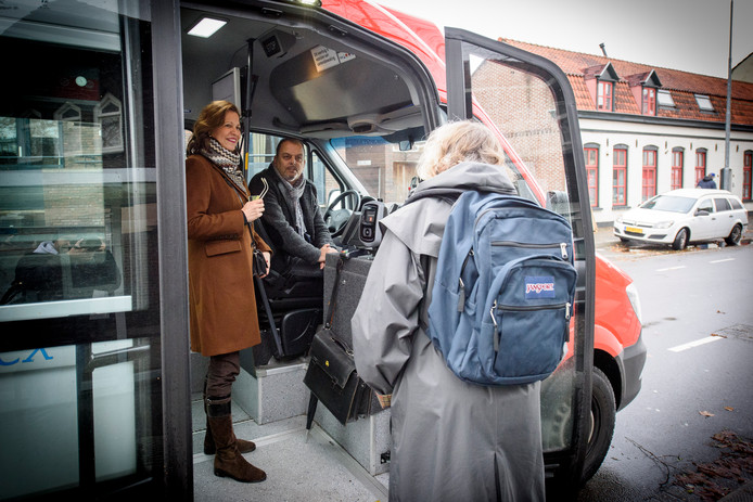 BravoFlex-busje in Eindhoven (archieffoto).