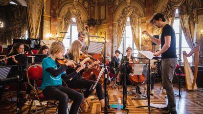 Leerlingen Sint Franciscus Melle op de planken van Gentse Opera