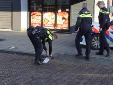 Waarschuwingsschoten in winkelstraat Waalwijk; 'Hij ging echt helemaal door het lint'