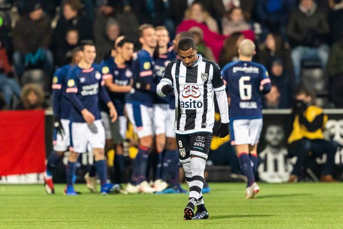 PSV viert de 0-2 van Schwaab, Duarte baalt.