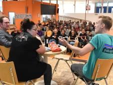 Acteurs wijzen leerlingen Merlet in Mill op gevaren van drugs