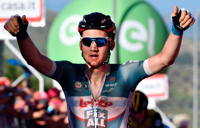 Wellens won onder meer een rit in de Giro.