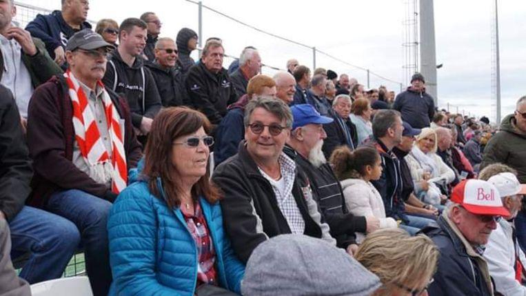 De rood-wit fans wonen graag de Spaanse wedstrijden bij van RAFC