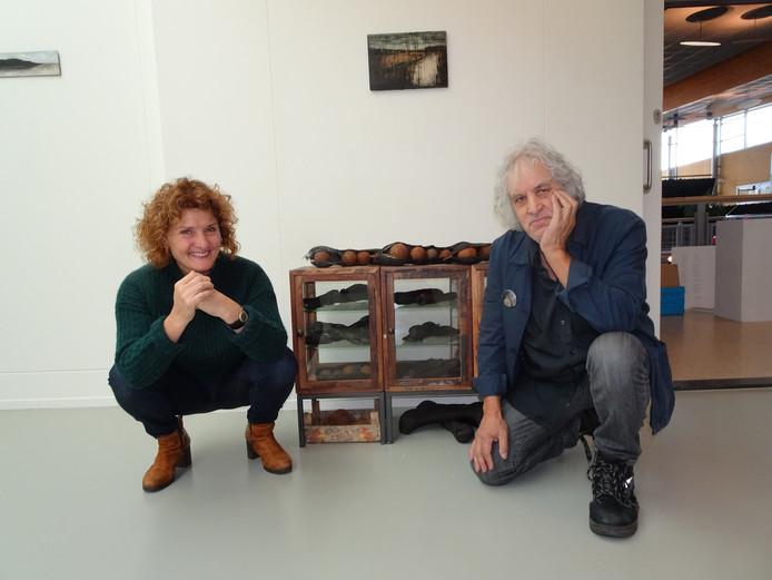Ank van Engelen en Jan Radersma.