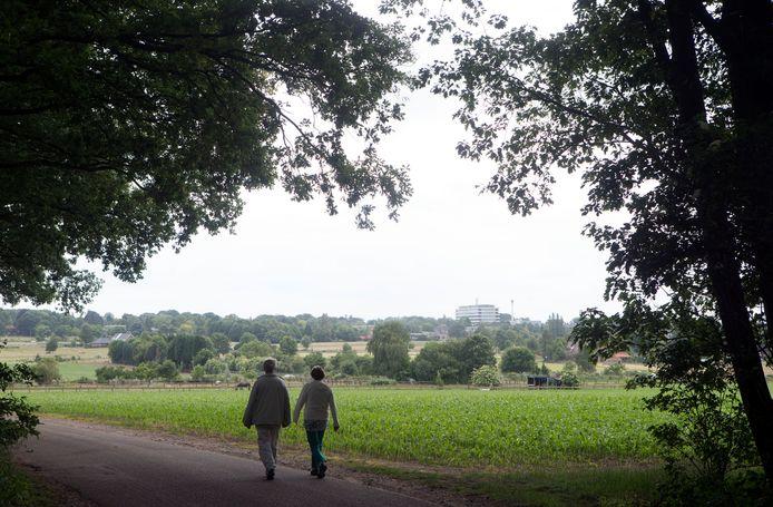 DeWageningse Eng is een open landschap met divers gebruik aan de oostkant van de stad.