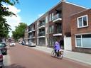 Op de plek van Wagemakers Elektro aan de Kruisstraat is dit complex met 18 zorgwoningen verrezen.