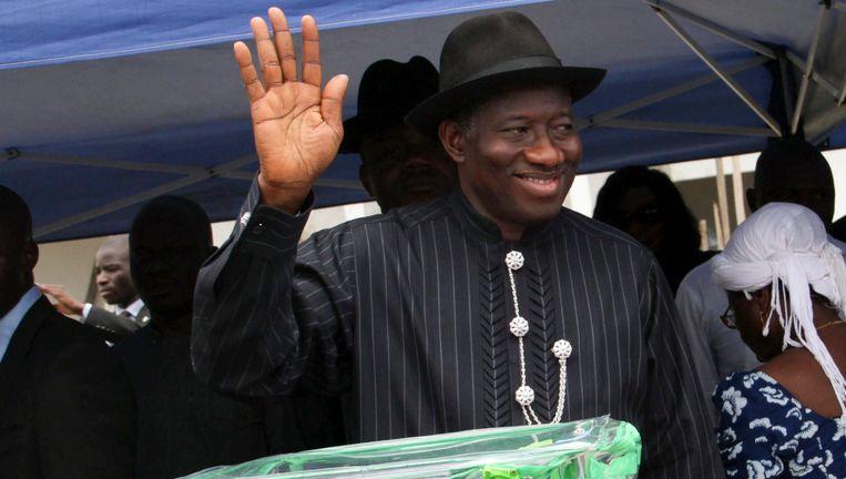 President Goodluck Jonathan Beeld EPA