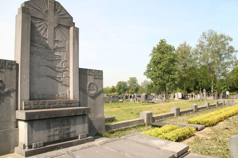 De begraafplaats van Tereken.