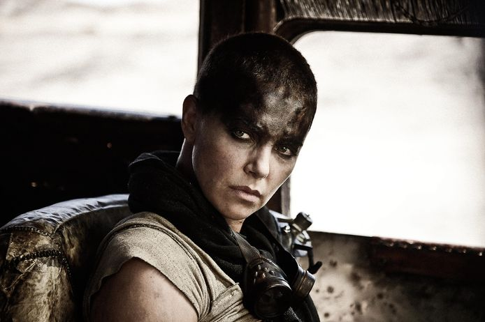 Charlize Theron dans Mad Max: Fury Road.