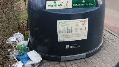 Na klachten bewoners Wilgenlaan: glasbolpeters moeten sluikstorten tegengaan