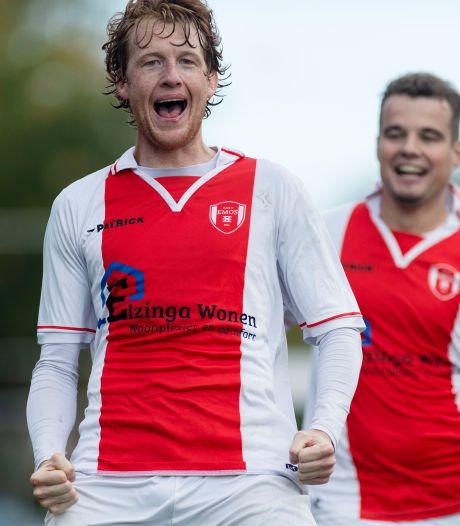 Uitslagen en doelpuntenmakers amateurvoetbal zondag 4 oktober