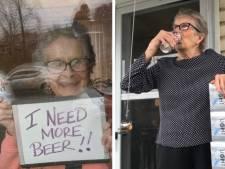 """Une femme de 93 ans appelle à l'aide: """"J'ai besoin de plus de bières!"""""""