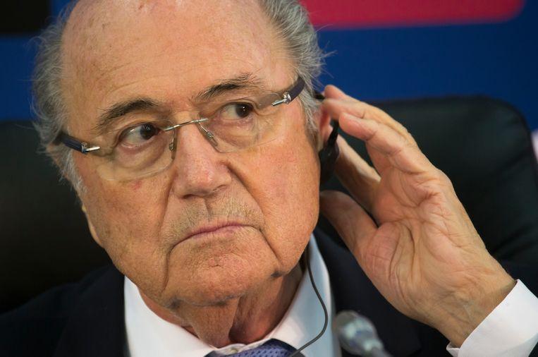 FIFA-voorzitter Sepp Blatter. Beeld ap