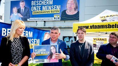 """Vlaams Belang grijpt terug naar beproefd recept: """"Crimigranten buiten"""""""