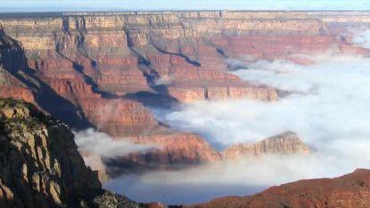 Adembenemend: wolken veroveren Grand Canyon