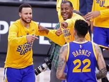 Warriors voor derde jaar op rij naar NBA-finale
